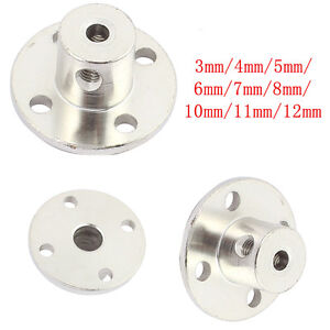 3mm 12mm Rigid Flange Coupling Motor Guide Shaft Coupler Bearing Seat Connector