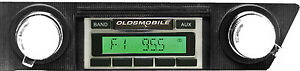 1966 1967 66 67 Oldsmobile Cutlass Radio Usa 230 Aux Am Fm