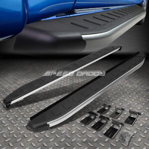 For 11 17 Jeep Grand Cherokee 5 75 Metallic Black Step Bar Nerf Running Boards