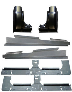 1999 2017 Ford Super Duty Crew Cab Inner Full Outer Rocker Panel Cab Corners