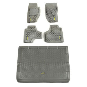 Floor Liner Kit Gray For Jeep Liberty 2008 2013 391498828 Outland