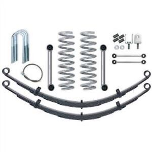 Rubicon Express Re6025 3 5 Short Arm Lift Kit W Rear Leaf Springs For Cherokee