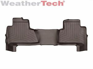 Weathertech Floor Mats Floorliner For Chevy Tahoe gmc Yukon 2nd Row Cocoa