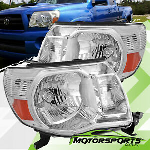 For 2005 2011 Toyota Tacoma Headlights Headlamps Aftermarket Lights