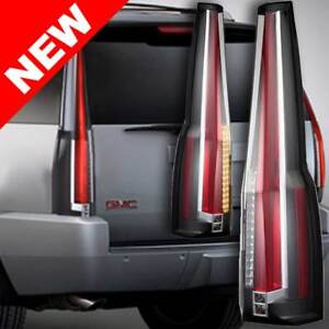 07 14 Gmc Yukon Chevy Tahoe Escalade Style Led Taillight Conversion Upgrade Kit