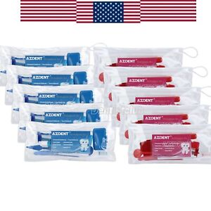 2 Colors Dental Teeth Oral Cleaning Care Orthodontic Kits Brush Floss Thread