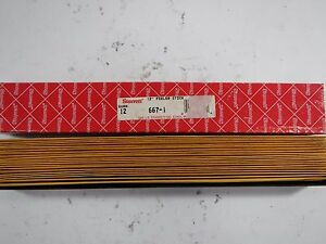 Starrett 667 1 Feeler Gage Stock