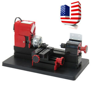6 In1 Mini Tool Jig saw Drilling Sanding Wood turning Lathe Milling Metal Lath