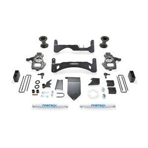 Fabtech K1084 Basic 6 Gen Ii Lift Kit W Performance Shocks For Silverado 1500