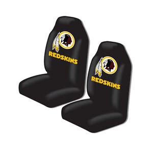 New Nfl Washington Redskins 2 Front Universal Fit Car Truck Bucket Seat Covers