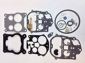 Rochester Quadrajet Carburetor Kit 1975 1979 Buick Cadillac Chevy Gm Brass Float