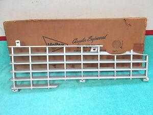 1959 Plymouth Lh Grille Section Nos Mopar 717