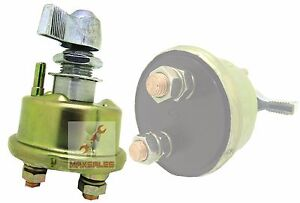 New Battery Quick Disconnect Isolation Cut Off Safety Kill Switch 2 Post Spst