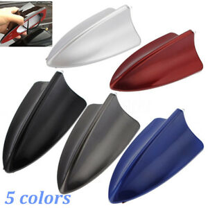 Auto Car Shark Fin Roof Antenna Radio Signal Aerial Decor Home Tool Universal Mh