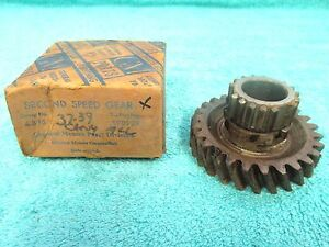 1937 39 Chevy 3 Speed Transmission 2nd Speed Gear Nos Gm 717