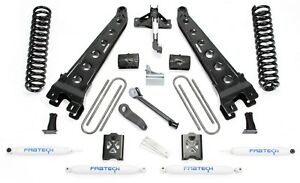 Fabtech K20112 6 Radius Arm System W Performance Shocks For 2005 2007 F350 4wd
