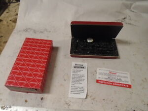 Machinist Tool Lathe Mill Unused Starrett 711 Fsaz Last Word Dial Indicator