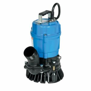 Tsurumi Hs2 4s 62 2 inch 1 2 Hp Semi vortex Submersible Trash Pump With Agitator