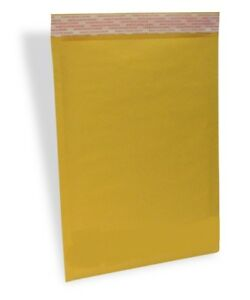 500 1 7 25x12 Eco Kraft Bubble Padded Envelopes Mailers Lite Shipping 7 25 x12