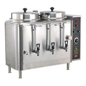 Cecilware Fe100n 3 Gallon Twin Automatic Coffee Urn