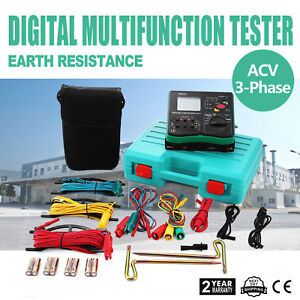 All powerful Insulation Resistance Tester Detector Megger Lcd 1000v Dy5500