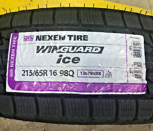 4 New 215 65 16 Nexen Win Guard Ice Snow Tires