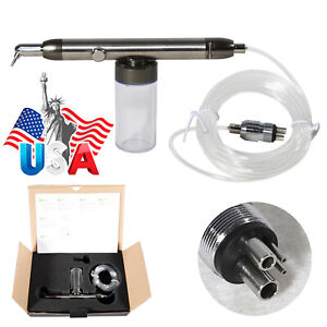 Dental Sand Blaster Sandblasting Air Abrasion Polisher Microetcher Polishing Us