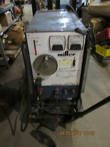 Miller Cp 200 Welder Dc Arc Power Source