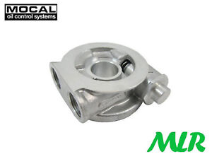 Mocal Otsp1x Oil Cooler Sandwich Take Off Plate With Thermostat Seal Sr