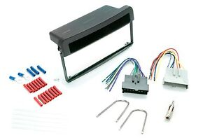 Dash Kit For Ford Mercury Single Din Radio Install W Wire Harness And Antenna