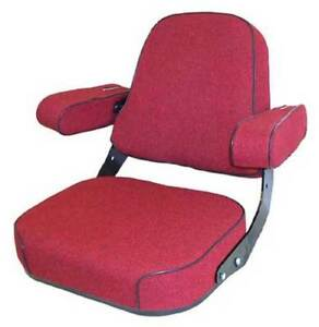 Seat Assembly Fabric Red International 856 966 1066 766 1466 706 756 806 826