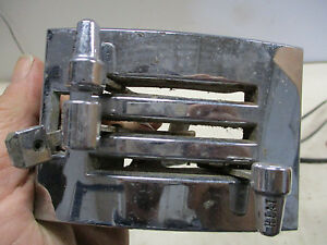 1965 1966 Ford Mustang Heater Temp Def Control Pannel With Cables Parts Only