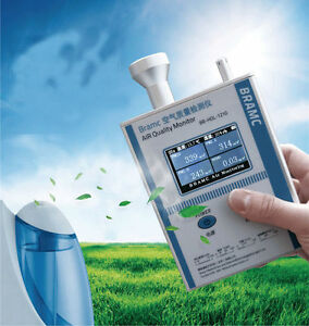 Air Quality Monitor Formaldehyde Detector Pm 2 5 10 Indoor Air Testing Equipment