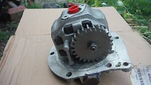 Ford 5000 7000 Series Hydraulic Pump Used In Vgc W o Dual Power 1965 75