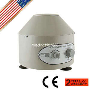 Electric Centrifuge Machine 4000rpm Lab Medical Practice Lab Tool Fast Ship