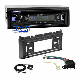 Kenwood Car Radio Bluetooth Dash Kit Harness For 85 90 Chevrolet Caprice Impala