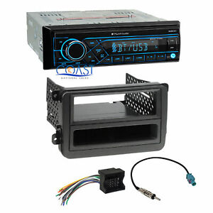 Planet Audio Radio Stereo Aux Bluetooth Dash Kit Harness For 06 Volkswagen