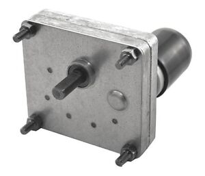 Dayton Model 52je51 Dc Gear Motor 12 Rpm 1 125 Hp 12vdc