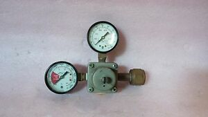 The Cornelius Co 857a 500 Psi 3 45 Mpa Dual Gauge Gas Regulator Valve