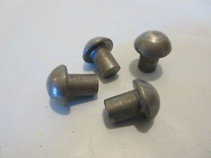 Gpw Willys Mb Cj2a Cj3a Cj3b M38 Jeep Rear Seat Rivets 4 Lot Of 4