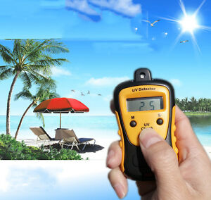 Uv Strength Tester Meter Photometer Uv Detector Handheld Lcd Light 1000u W cm2