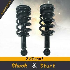 Strut Spring Assembly Pair Set Left And Right Front For 07 13 Gmc Sierra 1500
