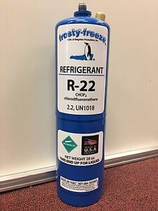 R22 Refrigerant R 22 Air Conditioner Large 28 Oz Can No Can Taper Needed