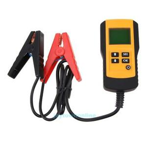 12v Car Vehicle Lead Acid Load Battery Tester Auto Analyzer Digital Lcd Display