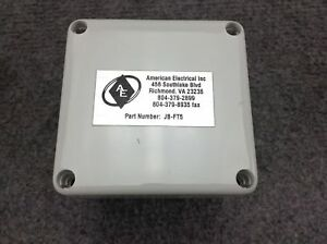 American Electrical Inc Junction Box Jb ft5 Plastic 3 23 l X 3 15 w
