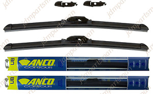 set Of 2 Anco Contour Beam Wiper Blade 26 22 For 2007 2018 Toyota Tundra