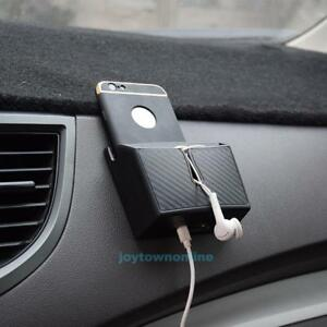 Vehicle Auto Storage Box Cellphone Holder Car Interior Accessory Organizer