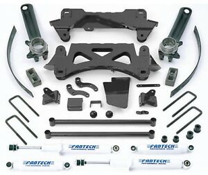 Fabtech 7002 6 Performance System W Performance Shocks For Tacoma 2wd 4wd
