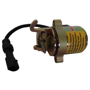 Fuel Shut off Solenoid With Wire For Bobcat 442 873 883 863 864 Skid Steer