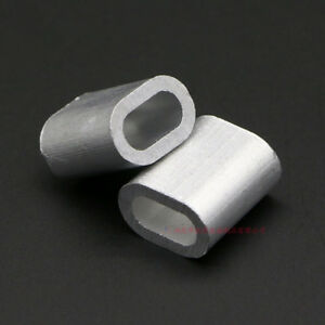 Aluminium Wire Rope Ferrules Crimping Sleeves 0 5mm To 8mm Il